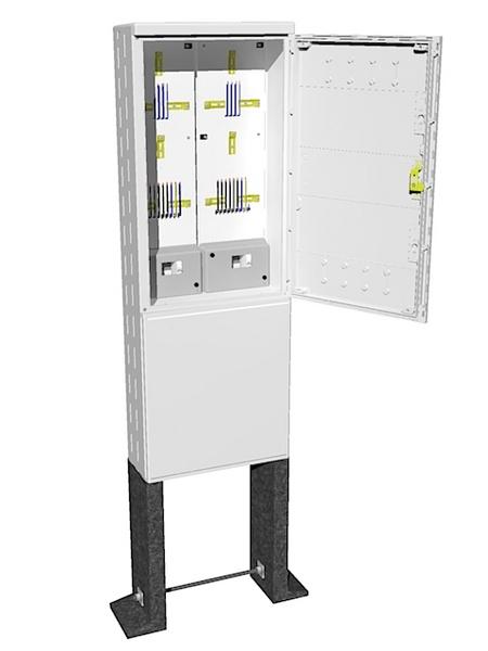 Elektroměrový rozvaděč pro dva elektroměry